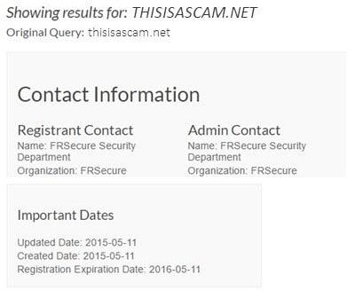 Check DNS Records of Sender Email Domain