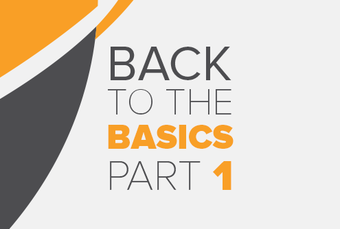 Security – Back to the Basics Series - Part 1