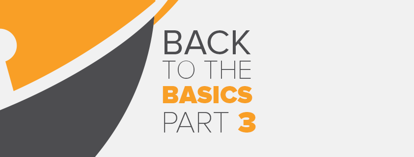 Security – Back to the Basics Series - Part 3