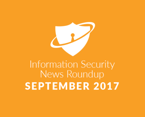 Information Security News Roundup: September 2017
