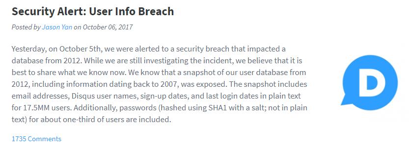 Breach Disclosure 2