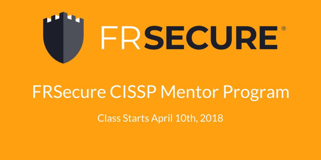 2018-frsecure-cissp-mentor-program