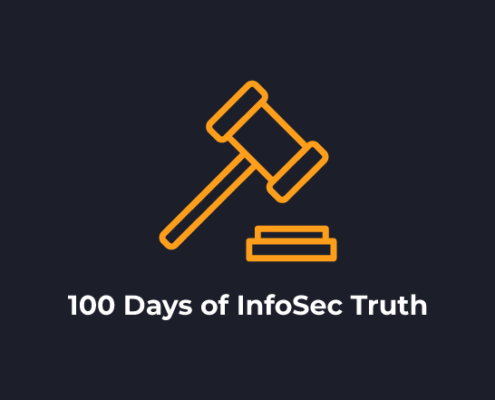 100 Days of InfoSec Truth Blog