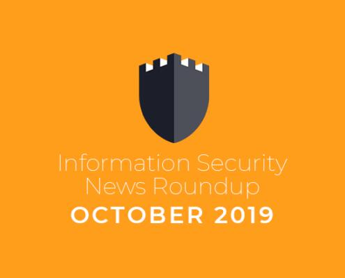 information security news october 2019