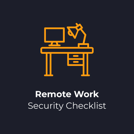 Remote Work Security Checklist