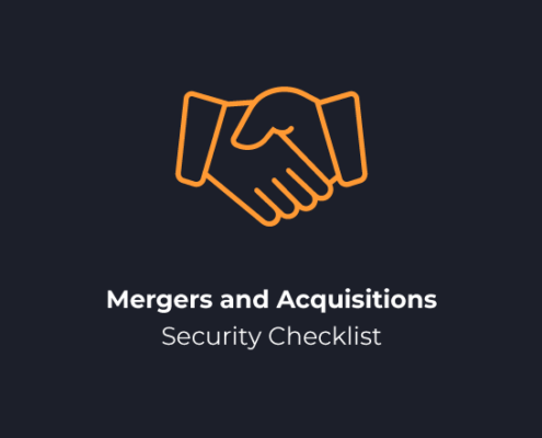 Mergers and Acquisitions Security Checklist