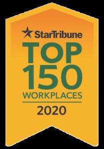 Star Tribune Top 150 Workplaces 2020