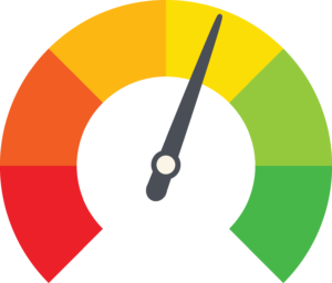Information Security Risk Assessment Gauge