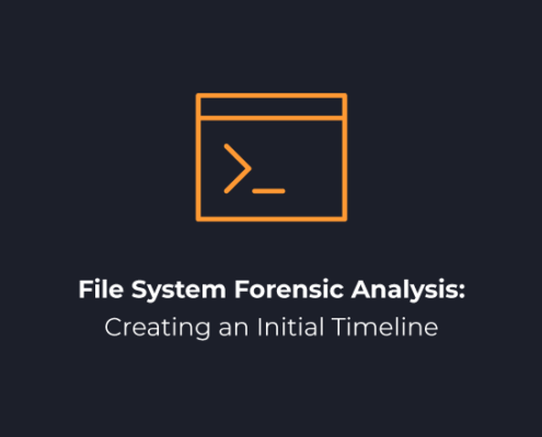File System Forensic Analysis- Creating an Initial Timeline
