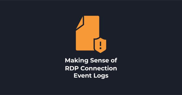 RDP Event Logs Header