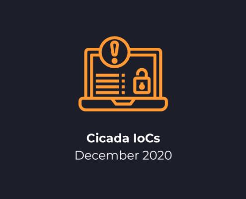 Cicada IoCs December 2020