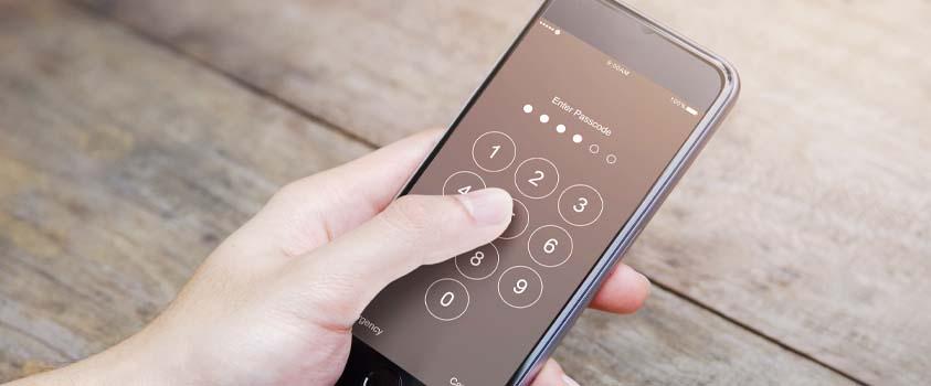 Phone Lock Screen with Passcode