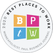 Minneapolis/St. Paul Business Journal Best Places To Work 2020