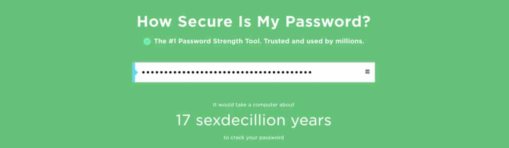 password strenghth checker